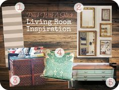 Peach With A Splash living room accessories to go with this living room inspiration http://pinterest.com/pin/12525705183311167/