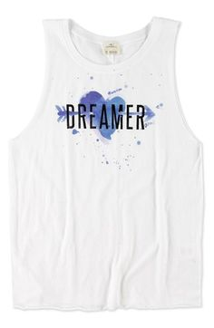 O'Neill 'Dreamer' Cotton Tank Top (Big Girls) available at #Nordstrom