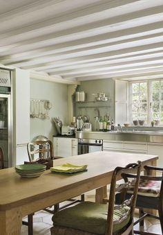 Cottage Anglais, La Cuisine Décoration Anglaise, Maison Anglaise, Chambres  Cottage, Intérieur Anglais
