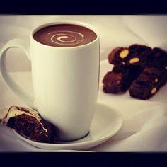 Hot chocolate:(