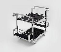 Barwagen von Art Deco Schneider | Teewagen / Barwagen