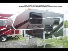 CampLite Truck Camper 5.7 tour. - YouTube  -- teardrop idea