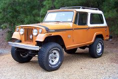 71 Jeep Jeepster Commando... change the color and yes, please :)
