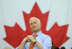 The late, great Jack Layton, brilliant mind and optimist extraordinaire