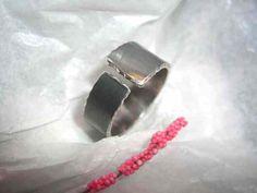 Ringe - interessanter Silberring - ein Designerstück von schmuckspektakel bei DaWanda