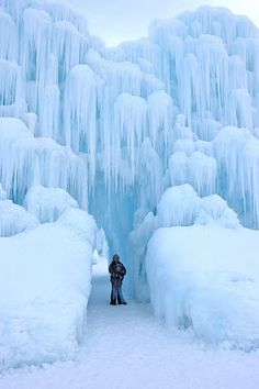 Midway Ice Castles (Midway) gorgeous, but never would I ever