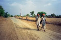 Rajasthani afternoon walk