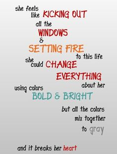 DMB song quote.  Grey Street.  First lyric meme I ever made for Pinterest!