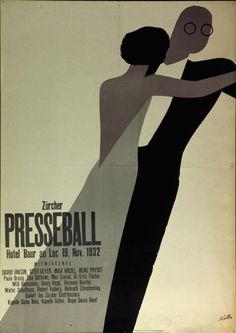 Ernst Keller Presseball poster