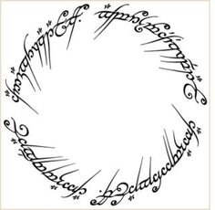 Inscription on the one ring... This will be on the inside of my future husband's ring, Just to remind him that I rule his world.