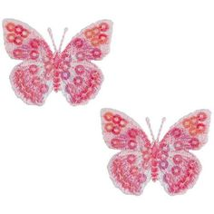 Expo MBP102PK Iron-On Embroidered Sequin Butterfly Applique, 2-Pack, Pink Expo http://www.amazon.com/dp/B003VSTEM8/ref=cm_sw_r_pi_dp_9v94tb1D7DNXM