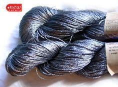 Viscose Silk Yarn: Shining Superfine / Lace weight by HandyFamily