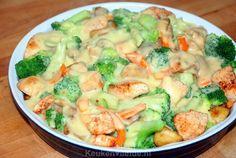 29 Super Ideas For Pasta Broccoli Kip Met Easy Pasta Recipes, Good Healthy Recipes, Meat Recipes, Chicken Recipes, Dinner Recipes, Cooking Recipes, Cooking For Dummies, Easy Cooking, Healthy Cooking