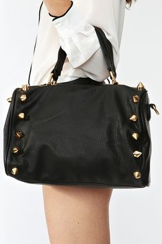 Empire Spike Bag in Black