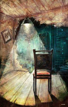 Insomnia / Stephen KIng / illustration by Vika Lebedeva #StephenKing #insomnia