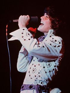 Donny Osmond in classic jumpsuit! They wore these at the Cobo Hall concert in Detroit I went to. 1971 or 72???