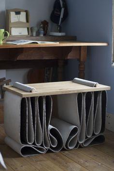 Sam Jennings // Folded Concrete Stool