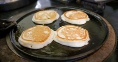 Pancakes on the griddle at Willowbank House Northern Ireland Tourism, Visit Northern Ireland, Ireland Food, Griddles, Griddle Pan, Love Food, Pancakes, Irish, Dishes
