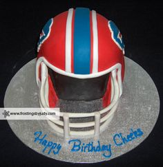 Can't imagine a better birthday cake. Bills fans are so creative!