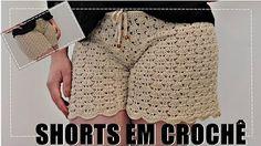 anapaulaanajuliatoco Ribeiro shared a video Crochet Pants, Crochet Skirts, Crochet Clothes, Knit Crochet, Parte Superior Del Bikini, Crochet Stitches, Crochet Patterns, Patron Crochet, Bikinis Crochet