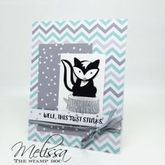 Stampin' UP! Foxy Friends and Here for You by Melissa Stout