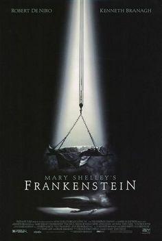 Mary Shelley's Frankenstein (1994) Review Best Movie Posters, Horror Movie Posters, Original Movie Posters, Horror Films, Horror Icons, Cinema Posters, Film Posters, Mary Shelley Frankenstein Movie, Robert De Niro