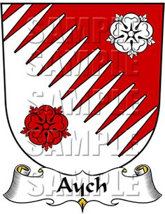 Aych Family Crest apparel, Aych Coat of Arms gifts