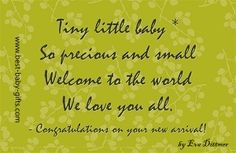 new baby poems - website with lots of newborn poems to use for baby congratulations, scrapbooking, baby's nursery,.