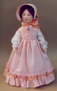 Susanna Cloth Doll Pattern by Kezi