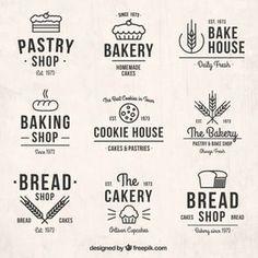 Insignias retro de panadería                                                                                                                                                                                 Más