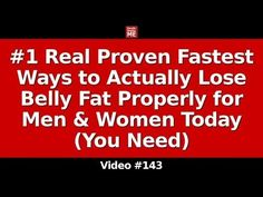 Rapid Weight Loss (5* Real Proven Ways to Actually Lose Your Weight Properly) - YouTube
