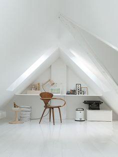Home office iluminado