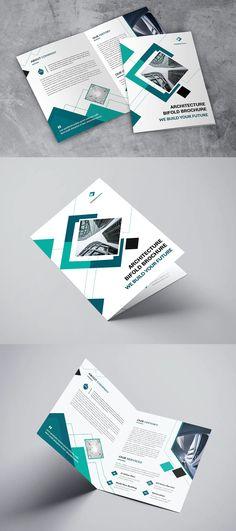 Architerture Bifold Brochure Template InDesign INDD - 22 pages Brochure Design, Brochure Template, Company Introduction, Company Profile, Design Templates, Flyer Design, Flyer Template, Booklet Template, Leaflet Design