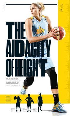 1e1b60ab3360 ESPN The Magazine   Tall Ball Photograph by Polina V. Yamshchikov http