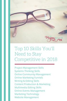 Visit the blog to learn more about the top 10 virtual assistant skills that will be most in demand in 2018.
