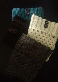 crochet boot cuff pattern free | Crochet boot cuffs | Felt