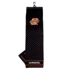 Oklahoma State Cowboys NCAA Embroidered Tri-Fold Towel