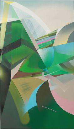 RAPHAEL BORER AND LUKAS OBERER - UNTITLED - ARTSTÜBLI  http://www.widewalls.ch/artwork/raphael-borer-and-lukas-oberer/untitled-42/ #painting