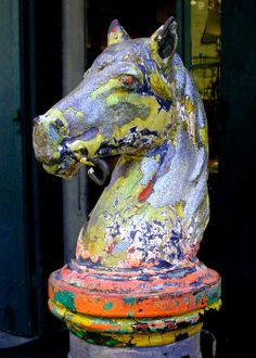 Hitching Post - Royal Street, French Quarter, New Orleans, Louisiana (by Ed Siasoco (aka SC Fiasco))