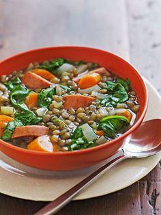 Lentil Soup Slow Cooker
