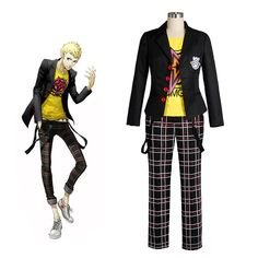 We try to ensure their quality and hope that it won't let your down. Miku Cosplay, Cosplay Dress, Cosplay Outfits, Cosplay Costumes, Persona 5 Cosplay, Academy Uniforms, Ryuji Sakamoto, Street Style Women, Street Styles