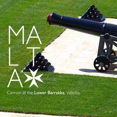 Cannon at the Lover Barrakka, Valletta