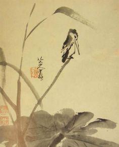 Bada Shanren (八大山人 ca.1626-1705) , born as Zhu Da (朱耷), was a Chinese great painter and calligrapher.