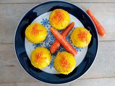 Antipastaa: Pirteät porkkanamuffinssit (maidoton, gluteeniton,...