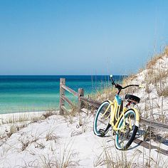 Cruise the beach towns, along scenic, bike-friendly Highway 30-A. Southern Living.
