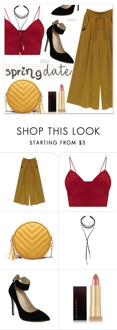 """""""Spring Date"""" by mycherryblossom ❤ liked on Polyvore featuring Kevyn Aucoin"""