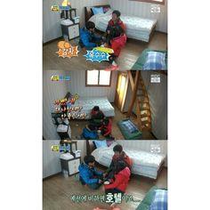 Sung Joon, Sung Bin, Sung Dongil. Sung Joon shared how better their homestay in season2 than season1. XD