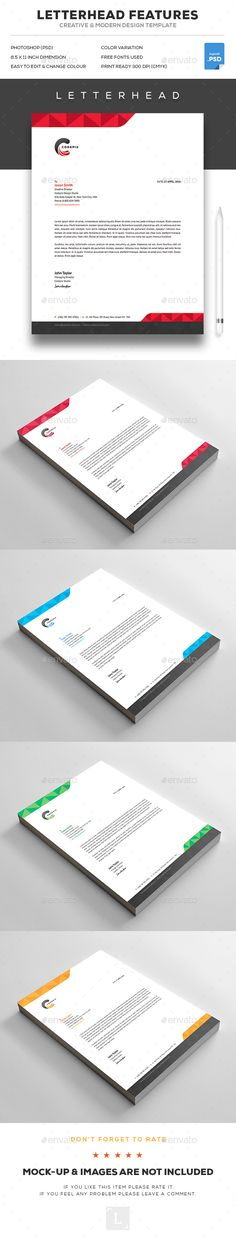 Look Behind Flyer Template Flyer template, Flyers and Templates - letterhead example