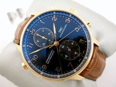 Men's #watches, IWC Scaffhasen this is my favorite watch...but it's a bridge too far.