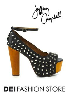 http://www.deifashionstore.com/women/jeffrey-campbell.html A stud detailed spring/summer inspired wedge. Give personality to your outfits